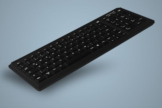AK-7000-x-B, High Quality Mini Desk Keyboard with Numeric Pad