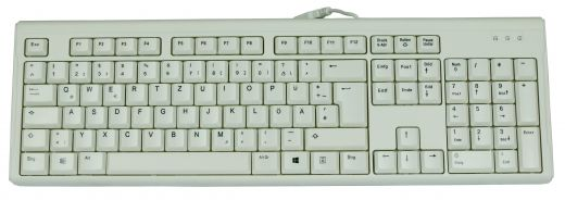 High quality office and desktop keyboard white