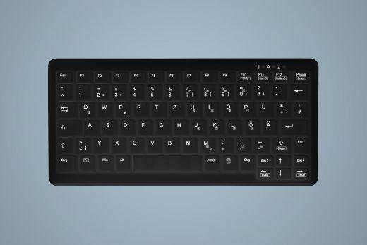 Ersatzmembran für desinfizierbare Tastatur AK-CB4110F-U in Schwarz