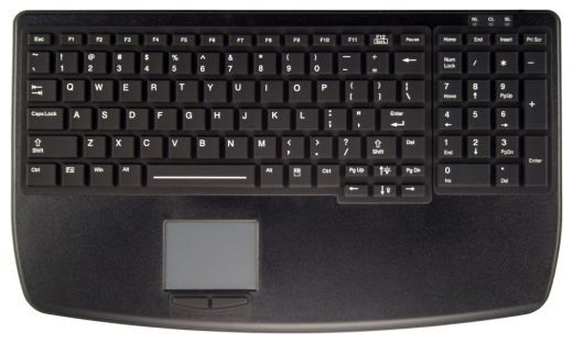Beleuchtete Medizin / Krankenhaus Tastatur mit Nummernblock und Touchpad