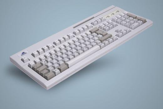 AK-880-x123W-W/GE, kabelgebundene Tastatur mit 3 spurigem Magnetkartenleser