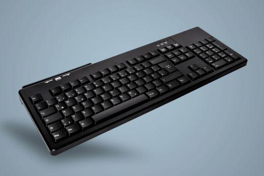 AK-8800S-U-B, kabelgebundene Tastatur mit Magnetkartenleser