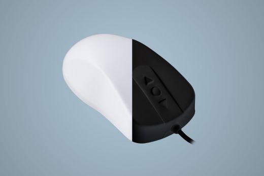 AK-PMH12OB-US, medizinische, desinfizierbare Maus, kabelgebunden, Schutzgrad IP68