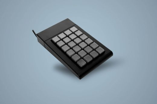 Free programmable keyboard with 24 keys