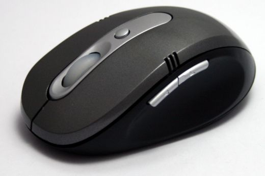 Optical 2,4 Ghz mouse with adjustable resolution