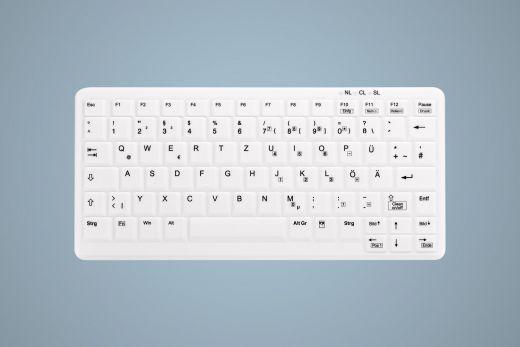 Weisse Silikonmembran für AK-4100 / AK-C4100 Kompakt Tastatur