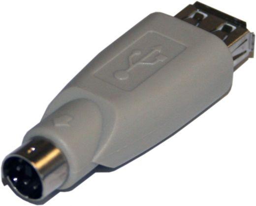 Adapter USB (Buchse) auf PS/2 (Stecker)