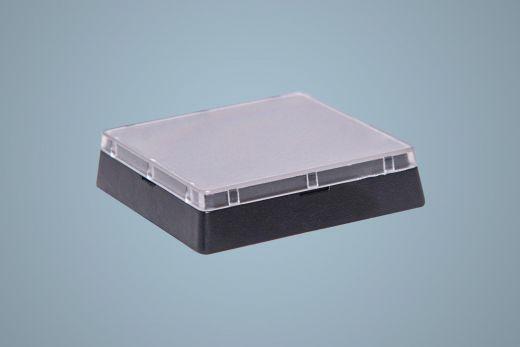 Austausch Tastenknopf mit abnehmbarer transparenter Tastenkappe, Grösse 2x2