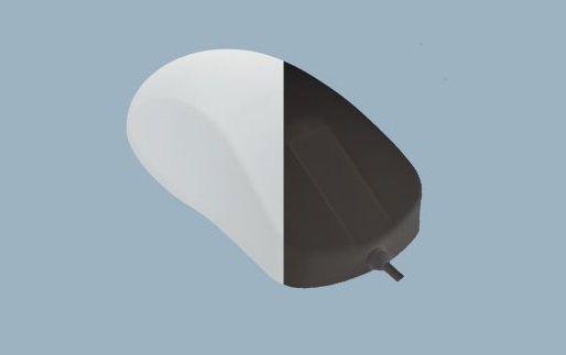 AK-PMH1OS-US, medizinische, desinfizierbare Maus, Schutzgrad IP68, kabelgebunden
