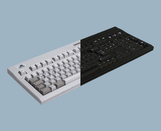 AK-880-U123W-x/SPA, Tastatur mit 3 spurigem Magnetkartenleser Version: SPARKASSE